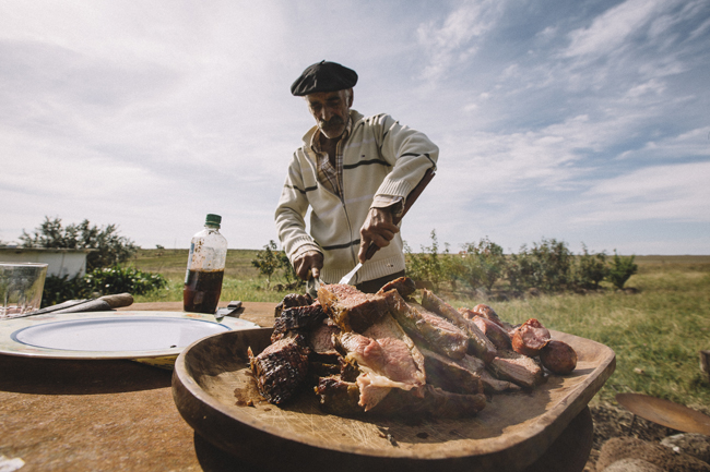 The staff at Casa Wirth are able to prepare traditional Uruguayan asado (or barbecue) on the hotel's garden.