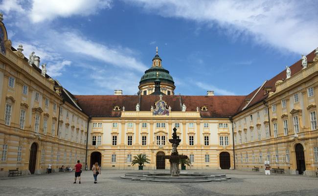 Melk Abbey in Vienna.
