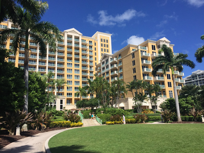 The Ritz-Carlton, Key Biscayne in Miami is ideal for a family getaway.