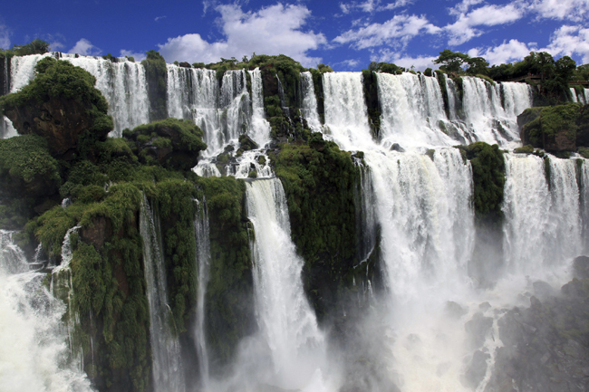 Iguazu Falls. (Photo credit: Marnella Tours)