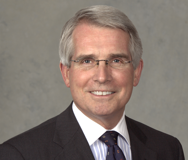 "Amtrak's incoming CEO Charles W. ""Wick"" Moorman."