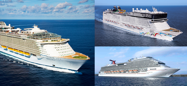 Norwegian Epic,Carnival Magic andRoyal Caribbean Oasis of the Seas have chosenPort Canaveral as their home port.