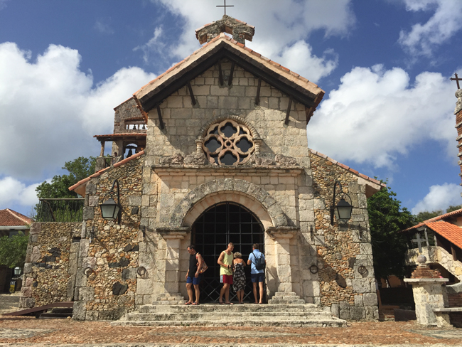 The St. Stanislaus Church at Altos de Chavon.