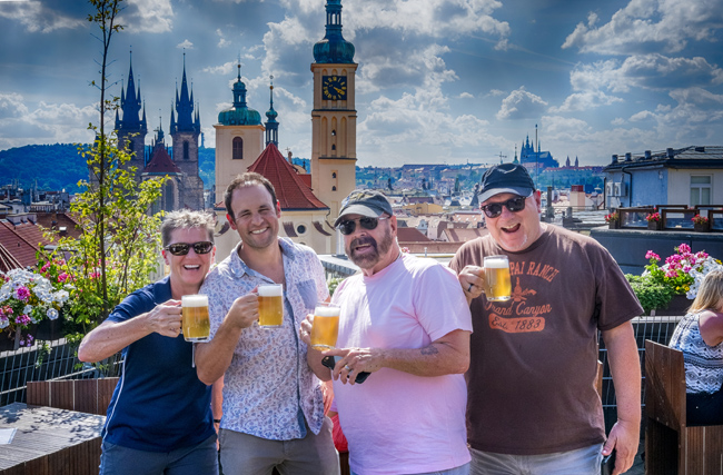 TourLetna Park's beer garden and the stylish Pipa pub in Prague onEating Prague Tours' new Brews and Views beer tour.