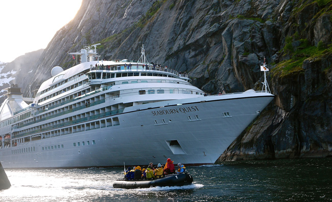 """You could win an all-inclusive Seabourn cruise with the """"Extraordinary Worlds"""" cruise giveaway."""