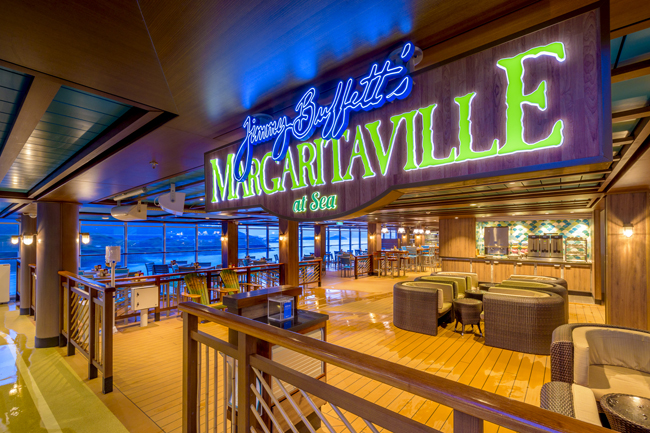 Norwegian Cruise Line expands its partnership expansion with Magaritaville.