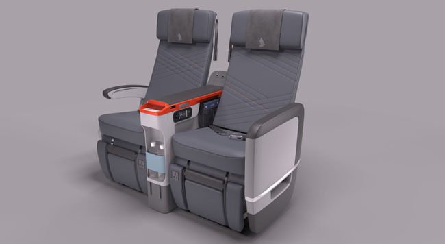 Singapore Airlines newPremium Economy Class is now available onin New York City on flights from JFK to Frankfurt (FRA) and Singapore (SIN).