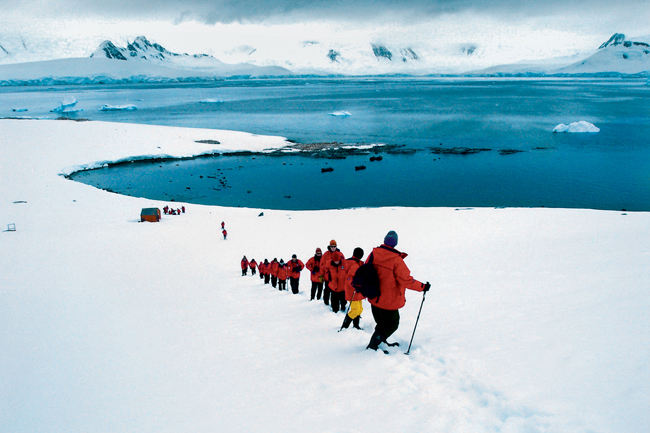 A family of four can save up to 34 percent on the Dec. 13 departure of Abercrombie & Kent's Antarctica, South Georgia & the Falkland Islands itinerary.