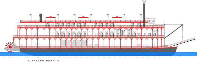 Rendering of the new American Dutchess.