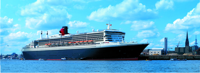 Cunard's Three for All sale is available on the Queen Mary 2 (pictured).