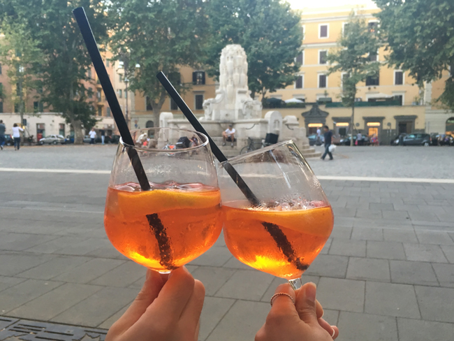 Guests on Eating Italy'snew Testaccio Supper Stroll evening tour have the opportunity toto sample authentic Roman food such as oxtail, cheeses, cured meats and gelato.