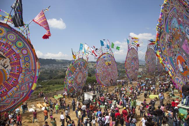 TheDia de los Muertosfestival in Guatemala.