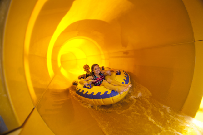 When guests book at one of Great Wolf Lodge's 13 locations, they receive a access to the resort's water park.