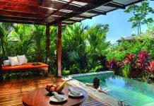 Spring Villa at Nayara Springs Resort in Costa Rica.