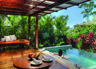 Spring Villa at Nayara Springs Resort in Costa Rica.