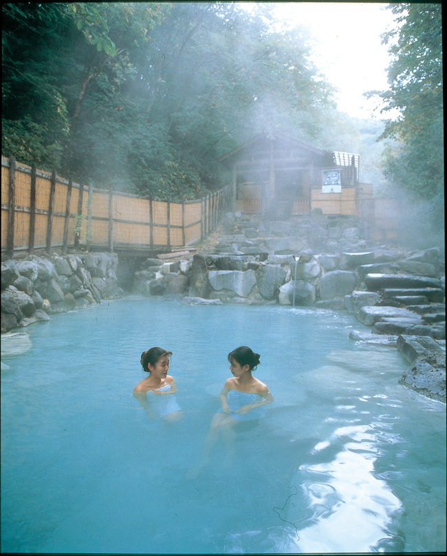 In Japan, visitors can opt for a visit to a traditional onset. ( Japan national tourism organization)