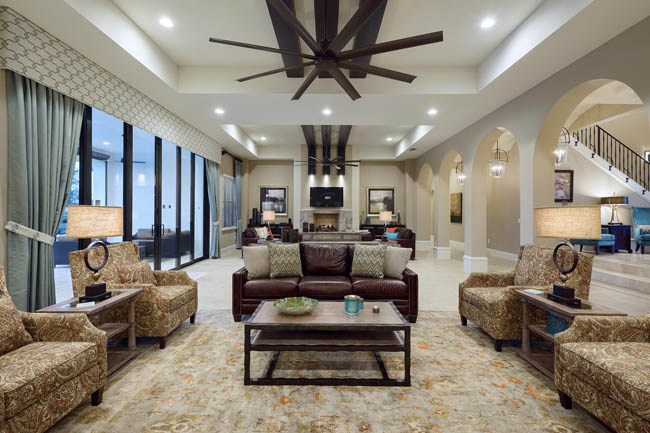 The 14-bedroom Highland at Reunion Resort is one of the featured properties in Villas of Distinction's new Orlando portfolio.