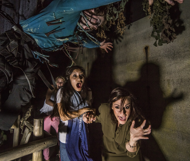 Busch Gardens' Howl-O-Scream has returned this year with two new haunted houses.
