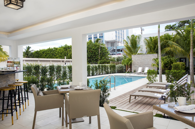 Ikona Hotel,Gzella Collection Hotels' second beachside boutique property, opened last month in Fort Lauderdale.