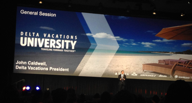 For the first time in its history Delta Vacations University 2016 (formerly MLT University) was held in Atlanta, Georgia at the Georgia International Convention Center.