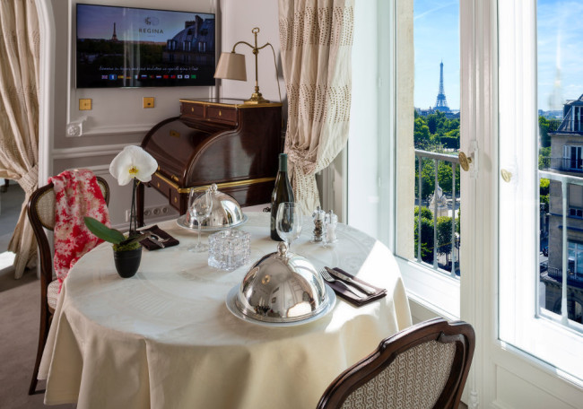Hotel Regina in Paris, France. (Photo credit: Hotel Regina)