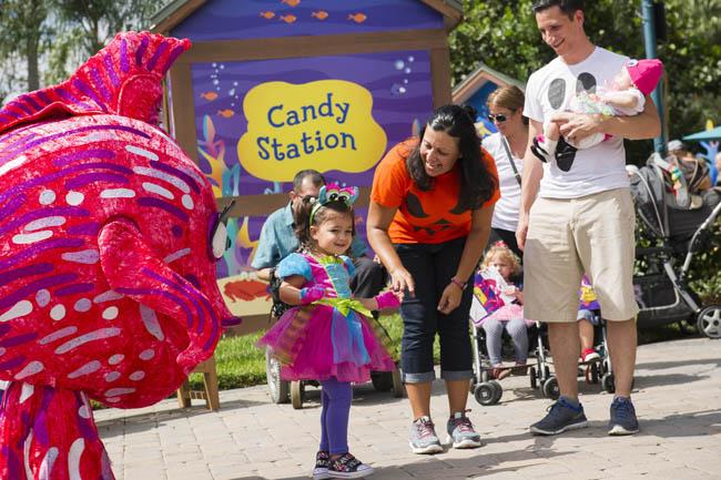 SeaWorld's Halloween Spooktacular in Orlando is held every weekend in October.