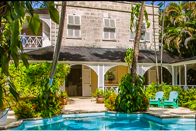The Great House, Turtle Beach, Barbados.