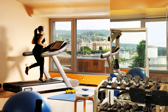 Switzerland's long-running Baur au Lac hotel is offering a new fitness package through Dec. 26.