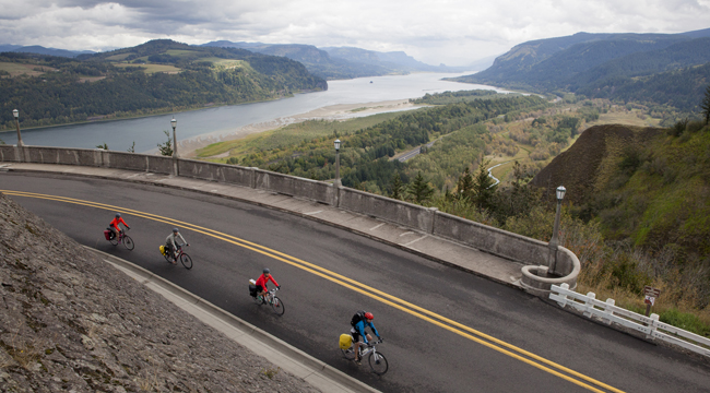 Beercycling's Oregon Beerway Tour focuses on local craft beer spots between Portland and Hood River.