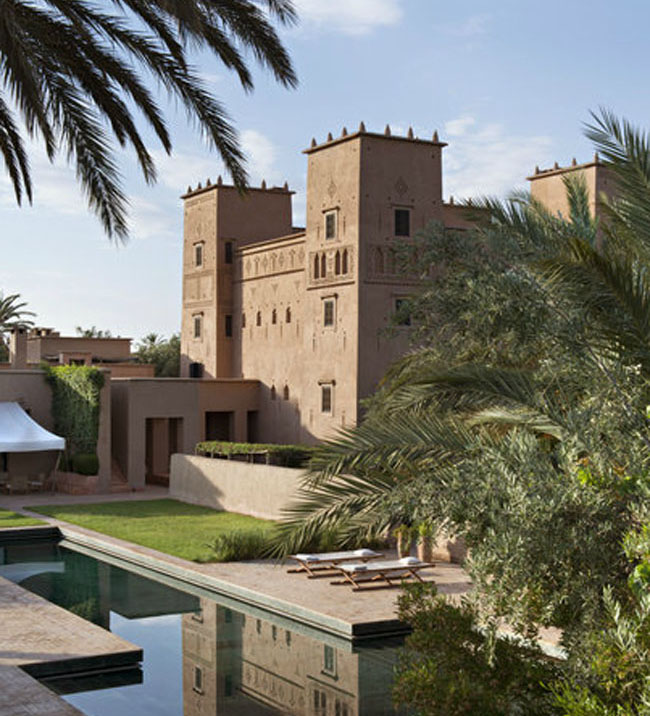 The iconic Dar Ahlam hotel in Morocco has joined Small Luxury Hotels of the World.