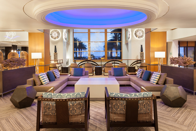 Fort Lauderdale Marriott Harbor Beach Resort & Spa has undergone sea-inspired guestroom renovations in addition to reinvigorating its lobby space.