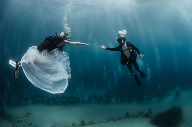 Hotel Metropole Monte-Carlo offers a unique Underwater Weddings package.