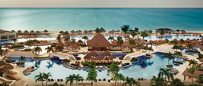 Moon Palace Cancun.