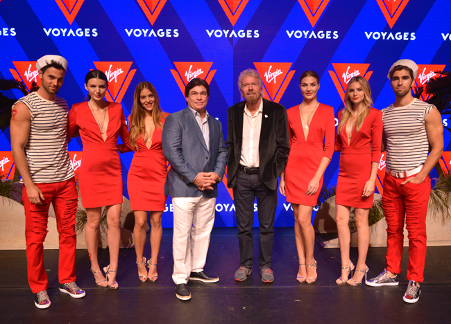 Last week, Virgin Group founder Sir Richard Branson, along with Virgin Cruises president and CEO Tom McAlpin, revealed Virgin Voyages as the new identity for the company's cruise line.