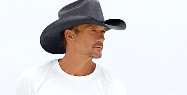 Grammy award winning country music star Tim McGraw is set to perform aboard the Carnival Breeze and the Carnival Valor next March.