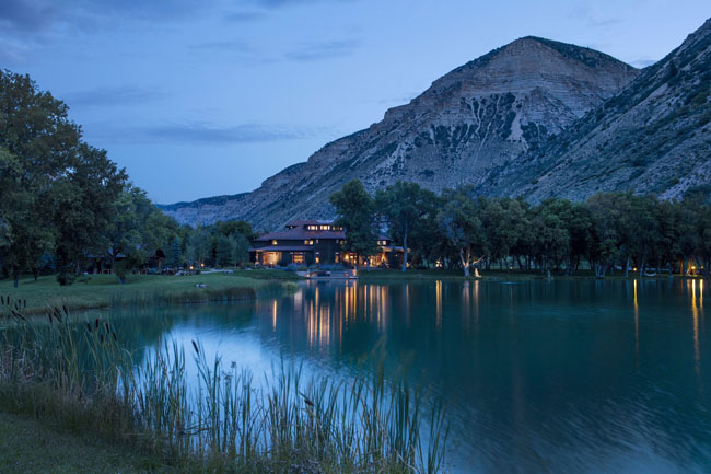 Guests who wish to have exclusive use of the private luxury ranch Kessler Canyon in Colorado can book the entire property through the Capture the Canyon buyout program.