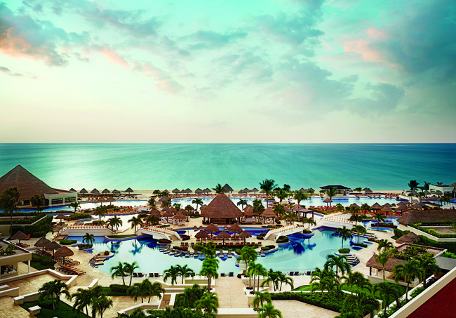 Travel Impressions is offering savings of up to $750 per couple at select Palace Resorts in Mexico, including Moon Pace Cancun.