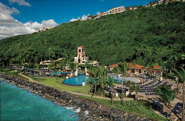Waldorf Astoria Resorts' Puerto Rico properties, El Conquistador Resort (pictured) and Las Casitas Village, are now offering an all-inclusive package.