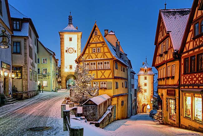 Collette'sThe Romantic Road and Fairy Tale Road itinerary includes a visit to Germany's fairytale town of Rothenburg ob der Tauber in northern Bavaria.