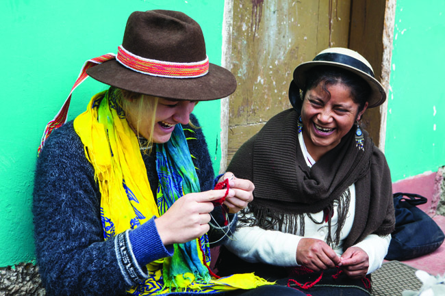 The Travel Corporation, in partnership with theME to WE social enterprise,is offering volunteer trips to India, the Ecuadorian Amazon and Kenya.