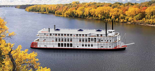 Reservations are now open for voyages on American Queen Steamboat Company's new boutique, all-suite American Duchess.