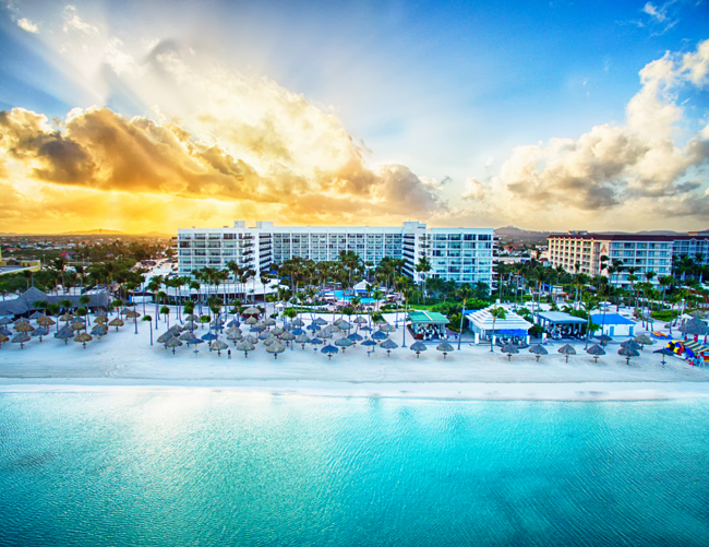 Guests who book a minimum 4-night stay at Aruba Marriott Resort & Stellaris Casino by Dec. 31 can receive up to $400 in resort credit.