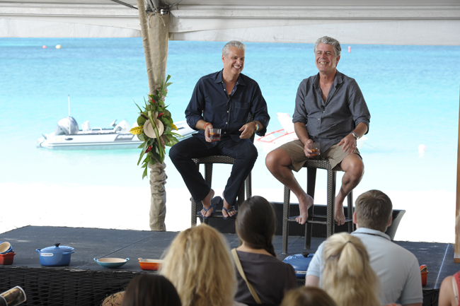Chef Eric Ripert is hosting the Cayman Cookout from Jan. 12-15, 2017 with a featured appearance from Anthony Bourdain and other esteemed chefs.