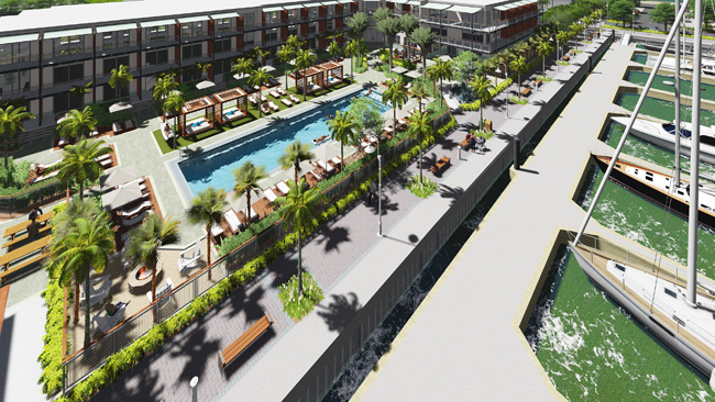 A rendering of the 100-room Hotel Key West, set to open in winter 2017.