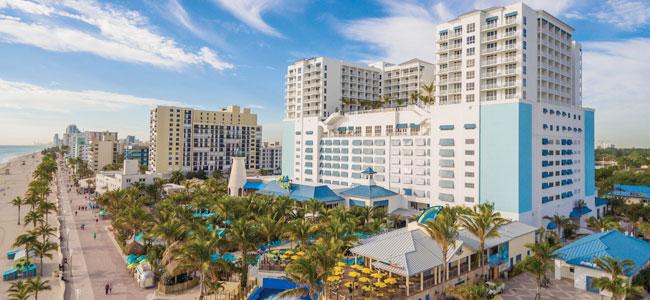 A rendering of Margaritaville Hollywood Beach Resort.