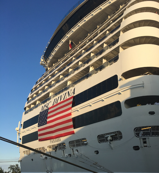 MSC Cruises Veterans Day discount includes a 10 percent or more discount on off Balcony, Suite and MSC Yacht Club staterooms.