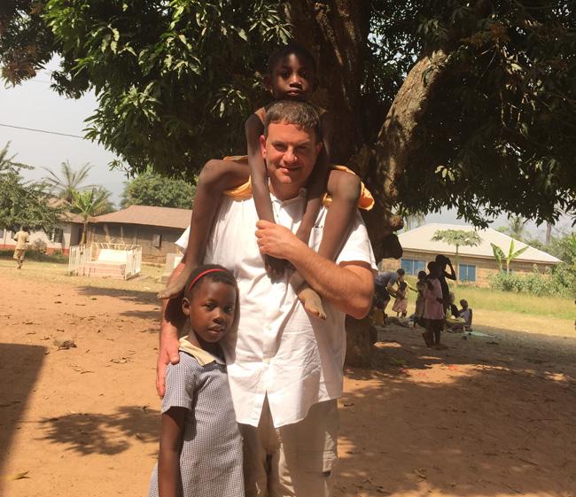 Tom in Ghana, Africa.