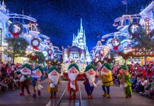 Walt Disney World Resort'sMickey's Once Upon a Christmastime Parade is one of the most beloved holiday traditions. (Photo credit:Ryan Wendler)