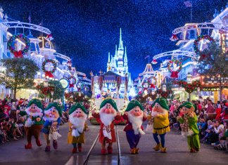 Walt Disney World Resort's Mickey's Once Upon a Christmastime Parade is one of the most beloved holiday traditions. (Photo credit: Ryan Wendler)