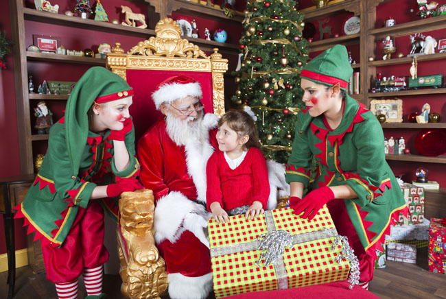 From Nov. 25-Dec. 31., guests of Busch Gardens Tampa Bay can meet and take pictures with Santa.